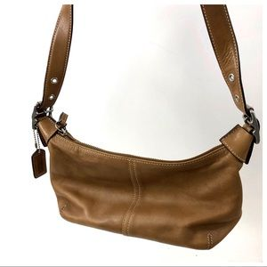 Coach E33 9564 Brown Leather Small Shoulder Bag